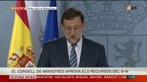 Discurs institucional de Rajoy