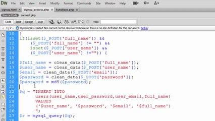 18 - Apply Security on Form Data - PHP Tutorial in Urdu/Hindi