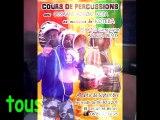 cours de percussions et cours de danse africaine angouleme