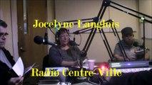 Jocelyne Langlois - Radio Centre-Ville - Septembre 2014