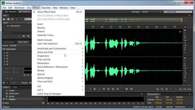 Adobe audition ile seslerdeki gürültü nasıl temizlenir?