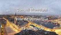 Conseil municipal de Dunkerque du 23 juin 2014