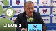 Conférence de presse Clermont Foot - ESTAC Troyes (1-0) : Corinne DIACRE (CF63) - Jean-Marc FURLAN (ESTAC) - 2014/2015