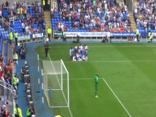 Micheal Hector's 1st goal for Reading FC. Reading vs Wolves 28/09/2014