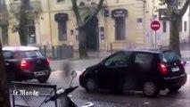 Inondations : en kayak dans les rues de Montpellier