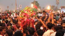 Go Nawaz Go with Music at PTI LAHORE JALSA AT MINAR-E-PAKISTAN with IMRAN KHAN 28th SEPTEMBER 2014 -Recorded with Canon ESO 7D
