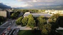 Timelapse Stade des Alpes FCG Rugby Grenoble