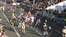 Marathon Roller de Berlin 2014 21km et arrivée
