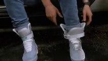 """Les Nike Air Mag de Michael J. Fox dans """"Retour vers le Futur 2"""""""