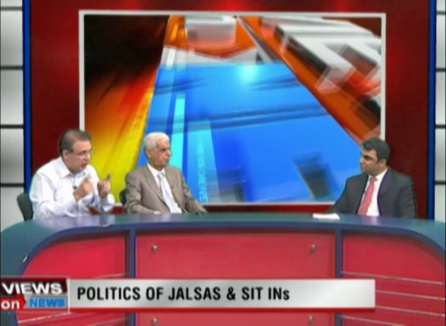 Programme: Views On News... Topic: Politics Of Jalsas And Sit In's