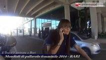 TG 30.09.14 Mondiali di volley, a Bari arrivano le azzurre