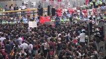 Hong Kong: les manifestations ne faiblissent pas