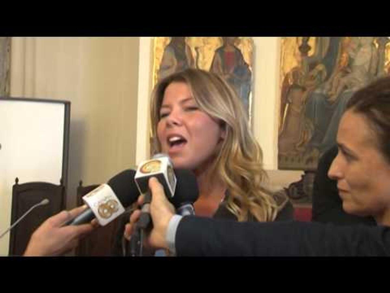 Napoli - Giornata della pace: a piazza Plebiscito giovani da tutto il mondo (30.09.14)