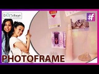 DIY Tutorial : How to Make a Super Cool Photo Frame