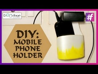 How To Make Mobile Phone Holder   DIY Tutorial