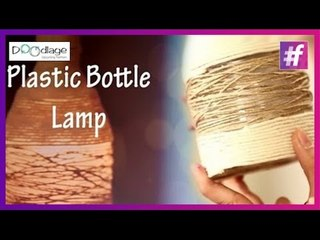 DIY : How To Make Lamp From Plastic Bottle