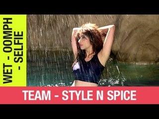 Enamouring Simran    Wet Look
