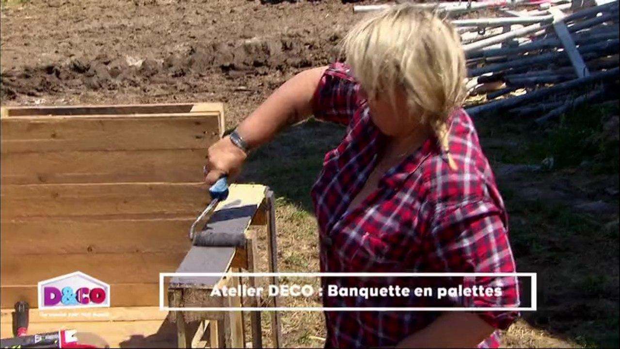 Fabriquer Banquette En Palette comment fabriquer une banquette extérieure avec des palettes ?