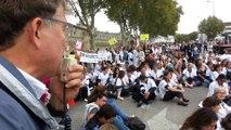 Manifestation des professionels libéraux de santé à Avignon