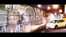 Nissan cleans up European cities with world's first car-powered graffiti