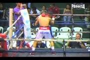 Pelea Byron Rojas vs Carlos Manzanares - Boxeo Prodesa