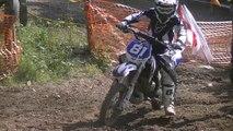 Les premiéres courses de moto cross de luka