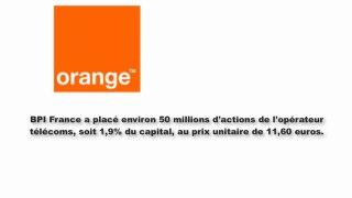 Orange a la croisee des chemins