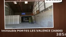 local commercial PORTES LES VALENCE