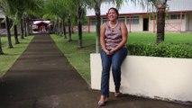 Angélica NARII professeur de Mathématiques au lycée de Papara