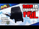 GTA 5 : Top 10 Cascades Ratées ! ( GTA V Top 10 Stunt Fail )