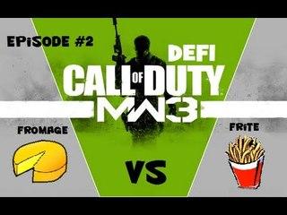 Défi MW3 - Frite et Fromage ! R&D au Sniper, Only Headshot !