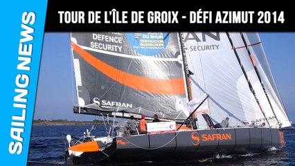 Marc Guillemot vainqueur sur le Tour de l'île de Groix