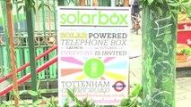 Londres: les cabines téléphoniques rouges deviennent vertes et écologiques