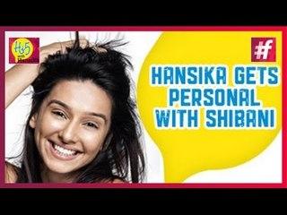 IPL Anchor Shibani Dandekar Answers Quick Hi5 Questions with Hansika