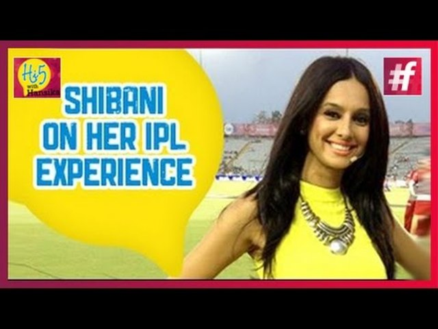 IPL Anchor Shibani Dandekar at Hi5 With Hansika | Promo