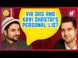 'Amit Sahni Ki List' Vir Das and Kavi Shastri's Personal List 'Revealed'