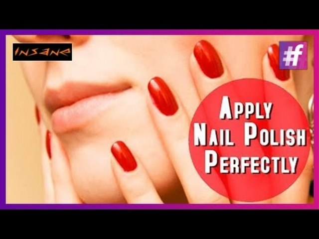 How To Apply Nail Polish Perfectly  Best Nail Tips