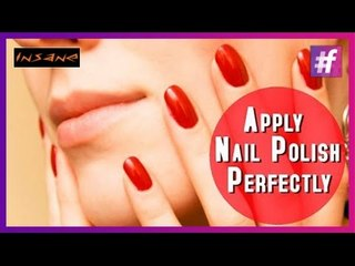 How To Apply Nail Polish Perfectly| Best Nail Tips