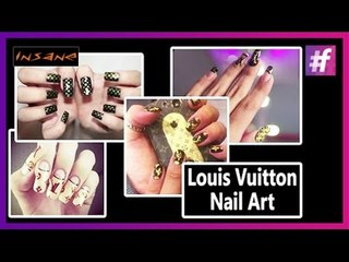 Louis Vuitton Nails | LV Nail Art Tutorial | Insane Nails and Tattoos