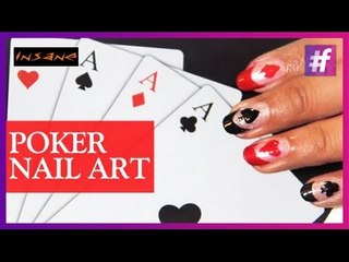 Poker Nail Art | Nail Art Tutorial