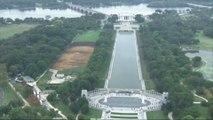 L'insolite portrait géant près de la Maison Blanche