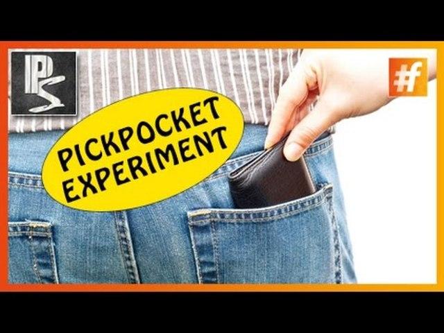 Pickpocket Experiment | Girl Vs. Guy