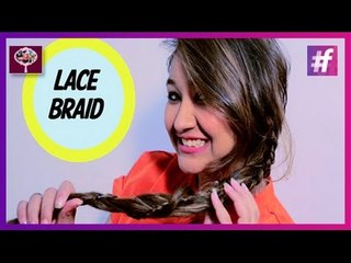 Lace Braid Ponytail | Hairstyle Tutorial