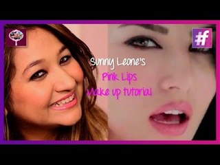Sunny Leone's 'Pink Lips' Inspired Look   Makeup Tutorial by Ishita
