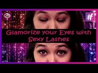 Glamorize your Eyes with Sexy Hot Lashes   How-to Put Fake Eyelashes Tutorial