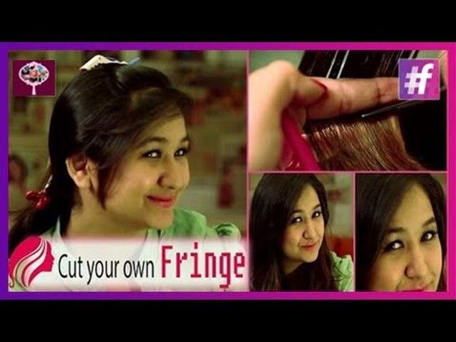 How to Cut Fringe Bangs Yourself | DIY Tutorial