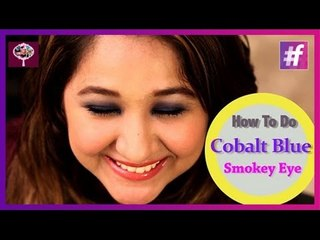 How to Get the Cobalt Blue Smokey Eye Look