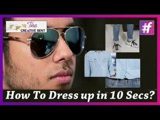 Men's Style Tips: Dress Up Your Casual Outfit in 10 Sec