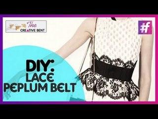 DIY: Lanvin Resort 15 Lace Peplum Belt