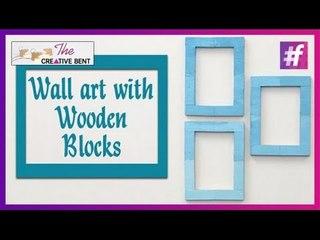 Cool DIY: Easy Wall Art with Jenga Wood Blocks